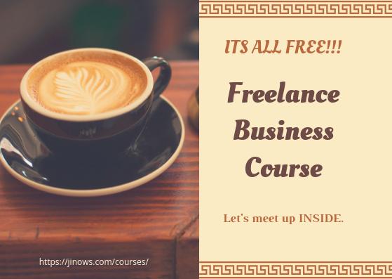 Jino freelance course